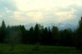 panorama Tatr z Czorsztyna