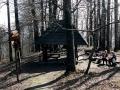 wiata na szczycie Magury Stebnickiej