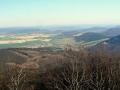 panorama z Magury na Zborov