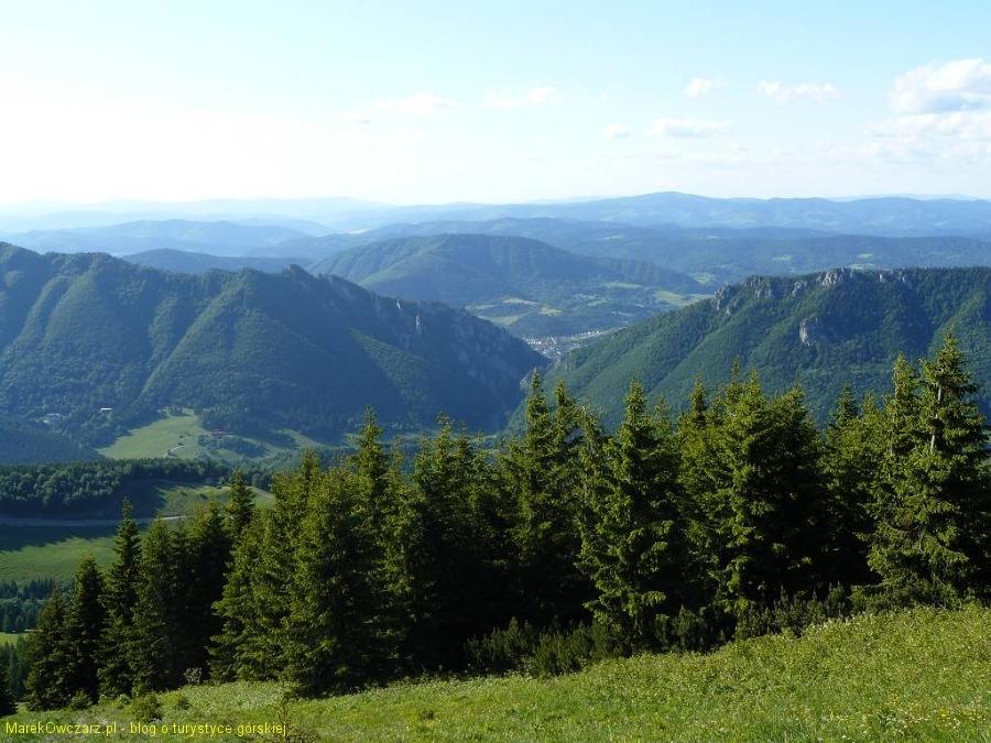 Sokolie i Boboty nad doliną Vratną