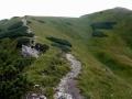 szlak na Mały Krywań