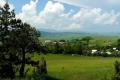 widok na otoczenie wioski
