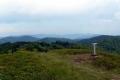 panorama najwyższych szczytów pasma Cergov