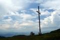 krzyż na niższym wierzchołku Mincola