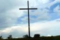 krzyż i ołtarz na nienazwanym wierzchołku
