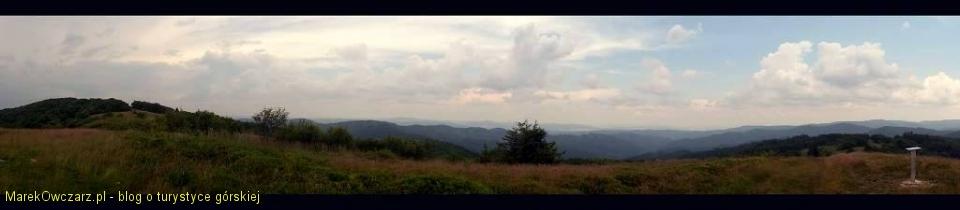 panorama spod krzyża na Mincolu