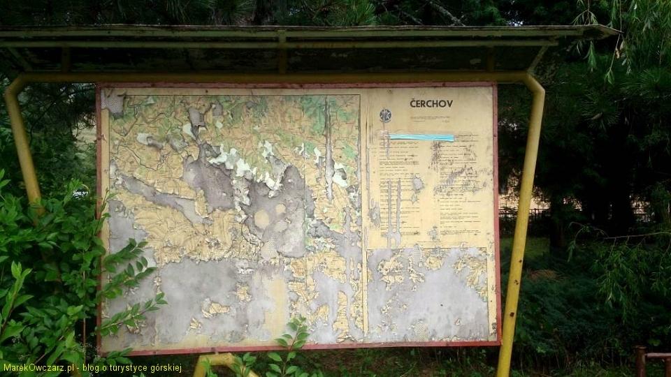 prastara mapa Cergova w Livovie