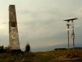 obelisk na szczycie Mincola