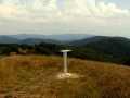 panorama Gór Czergowskich spod Mincola