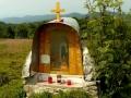 kapliczka na przełęczy Łazy