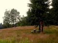 letnia polana na grzbiecie Uhliska