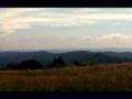 panorama z Mincola na polskie pasma