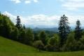 panorama Tatr z przełęczy Złotne