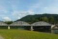 nowy most na Dunajcu w Krościenku