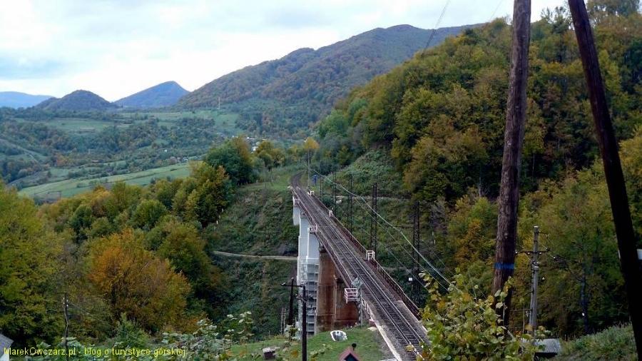 wiadukt kolejki zakarpackiej