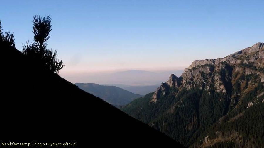 w strone Babiej Góry