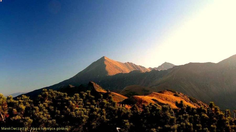 Bystra- najwyższy szczyt Tatr zach.