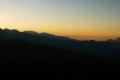 słońce zachodzi za Tatry Zachodnie