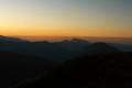 kończy się dzień nad Osobitą-na krańcu Tatr