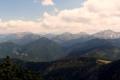 panorama od Giewontu po Kończysty wierch