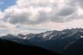 Tatry jeszcze przyprószone śniegiem