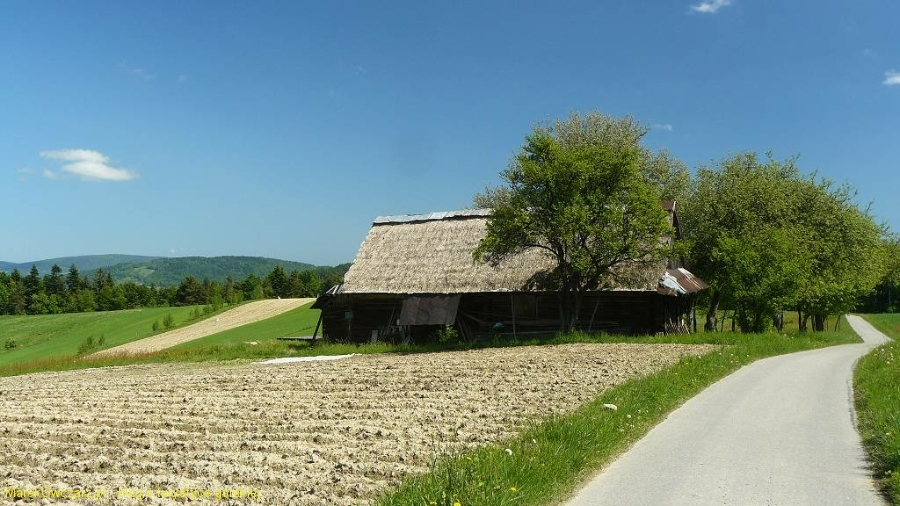 stara chata we Flaszy