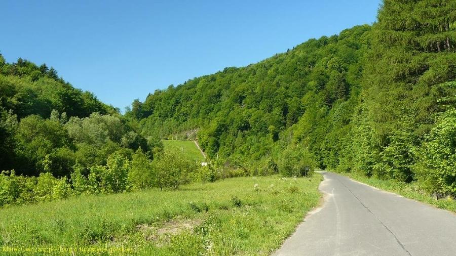 krajobraz Pienin Gorlickich