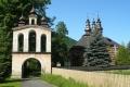 zabytkowa brama przy cerkwi w Łosiu