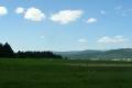 widok w stronę Jaworzyny Krynickiej i Tatr