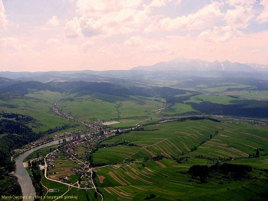 Tatry widziane z Trzech Koron