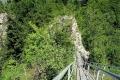schody na platformę widokową na Trzech Koronach
