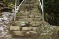 schody na Zamkową Górę