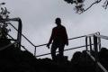 człowiek - cień na Sokolicy
