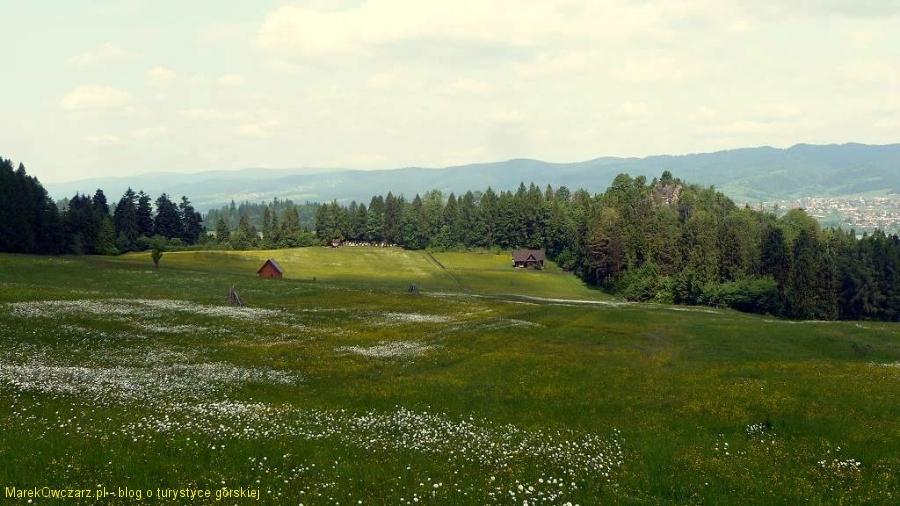 krajobraz Pienin Spiskich