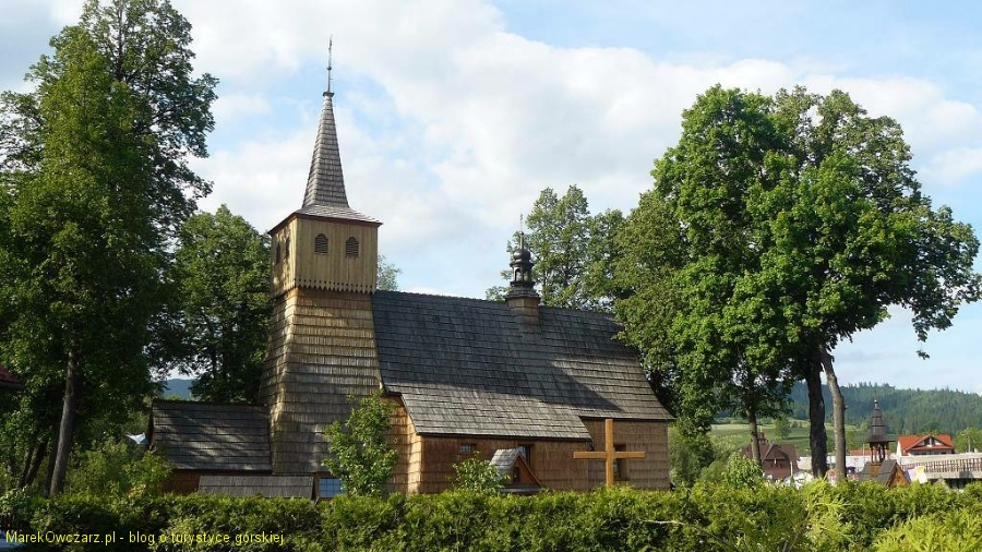 XV-wieczny kościółek w Łopusznej