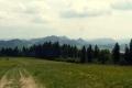 widok w kierunku Pienin Czorsztyńskich