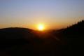 zachód słońca z przeł. Klekociny