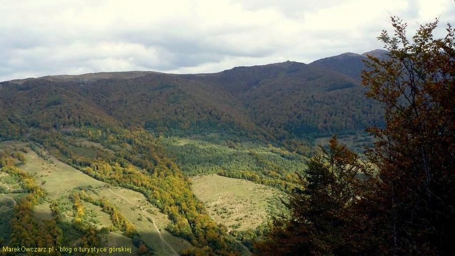 ukraiński szlak na Przełęcz Bukowską