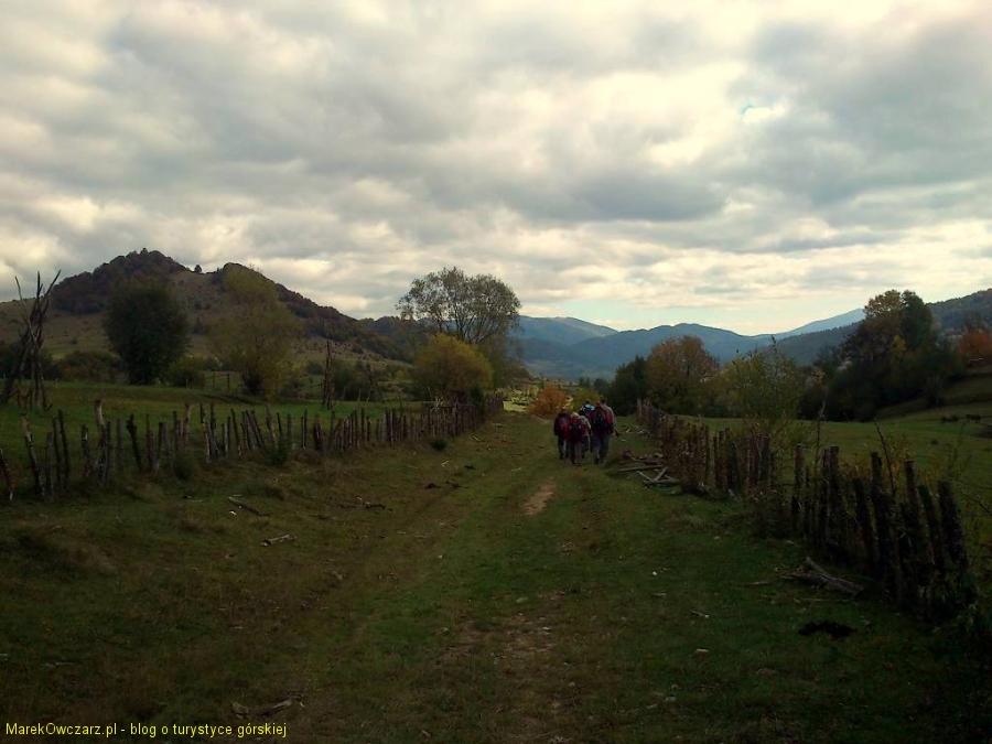 zejście do Wierchowyny Bystrej
