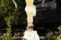 krzyż przy cerkwi w Użoku