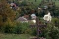 w dole cerkiew we wsi Wierchowyna Bystra