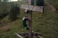 krzyż przy szlaku