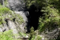 otwór jaskini Cetatile Radesei