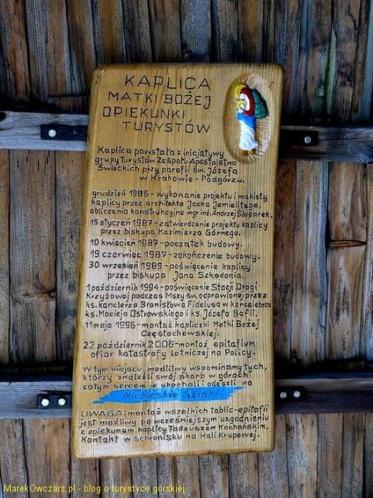 historia powstania kaplicy
