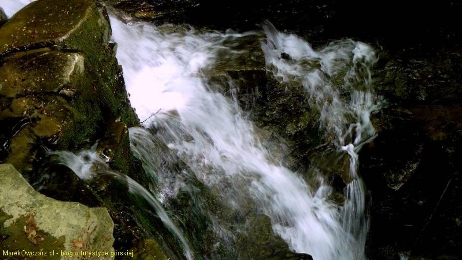 wodospad Mosorczyk z góry