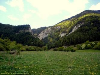 wejście do Doliny Prosieckiej