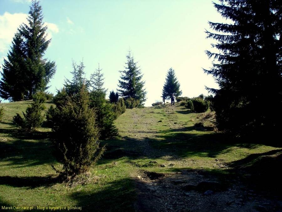 wyjście z doliny na Svorad