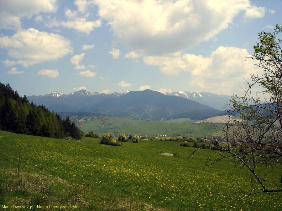 panorama Tatr zachodnich