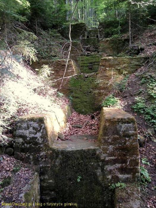 budowla na potoku Roztoka Mała