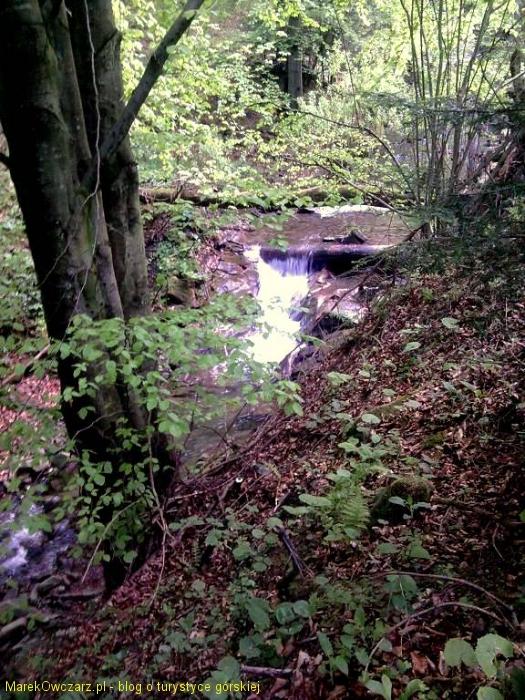 kaskad na potoku Roztoka Mała